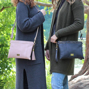 stylish cork clutch crossbody vegan fashion everyday