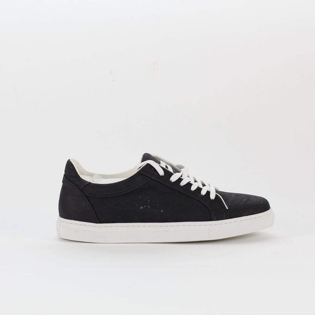 UNISEX CORK SNEAKERS BLACK Rok Cork