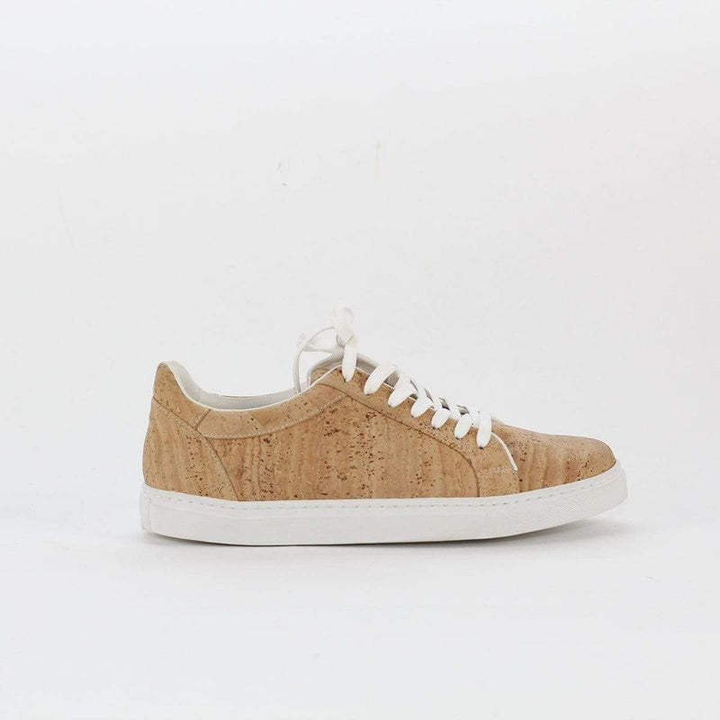 CORK VEGAN SHOES IN NATURAL CORK