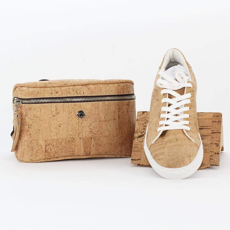 UNISEX CORK SNEAKERS NATURAL - [rokcork]