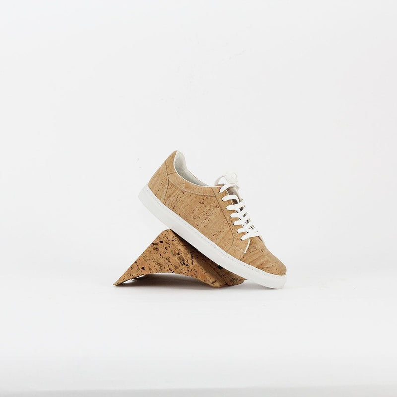 UNISEX CORK SNEAKERS ROYAL BLUE - [rokcork]