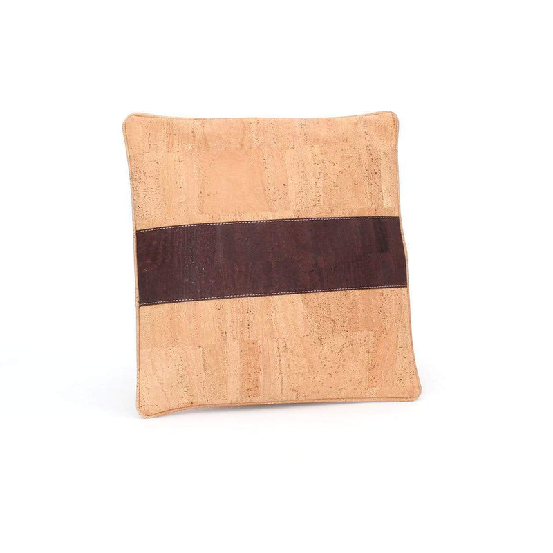 Tommy Cork Pillow  | Natural Brown - [rokcork]