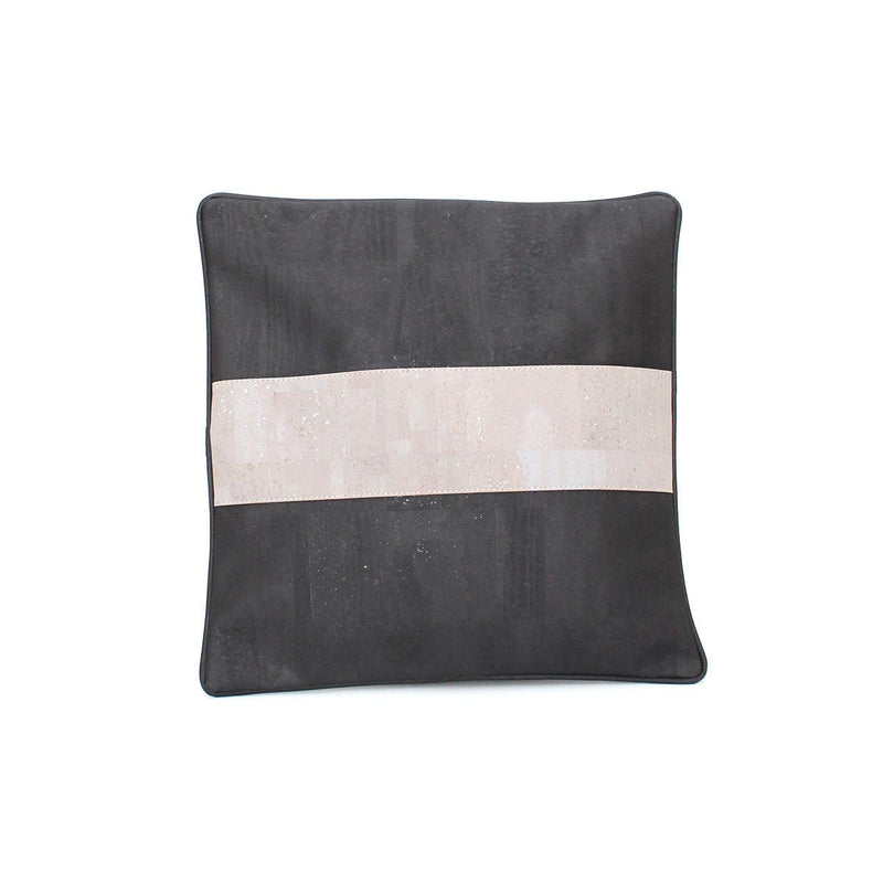 Tommy Cork Pillow | Black Grey - [rokcork]