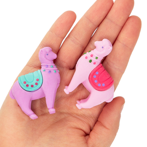Lovely Llamas Scented Erasers