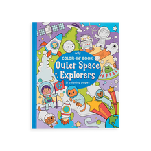 Load image into Gallery viewer, Outer Space Explorers Color-In' Book