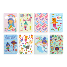 Load image into Gallery viewer, Mini Pocket Pal Journals - Mermaid Magic