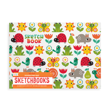 Load image into Gallery viewer, Sunshine Garden Doodle Pad Duo Sketchbooks-Set of 2