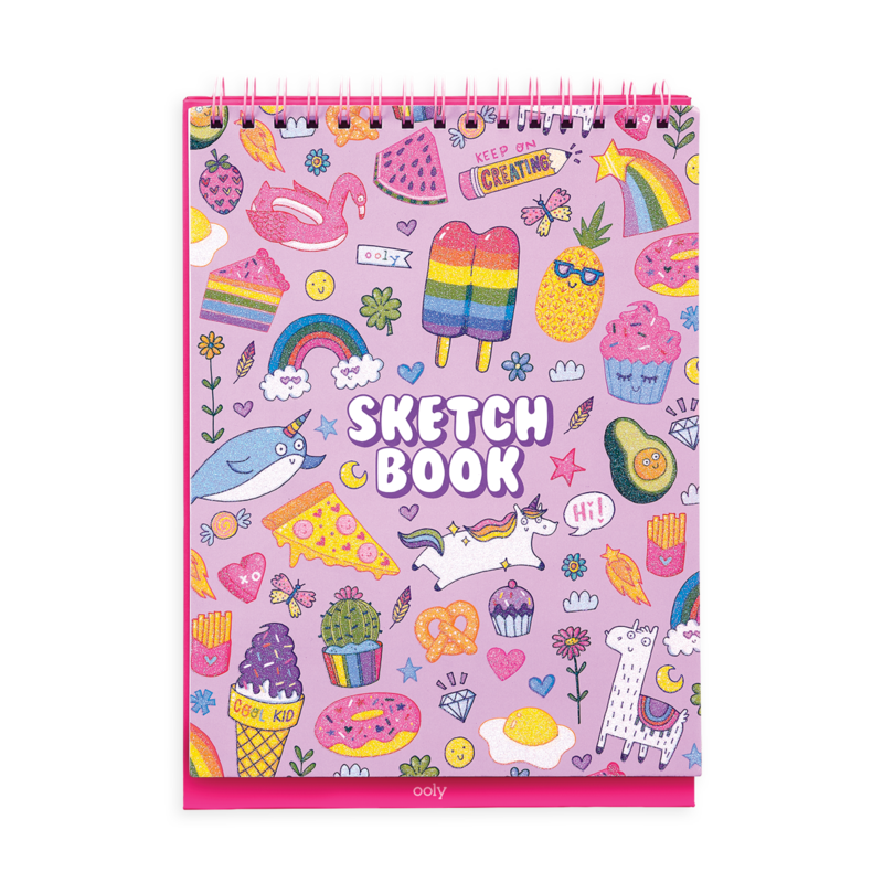 Sketch and Show Standing Sketchbook-Cute Doodle World