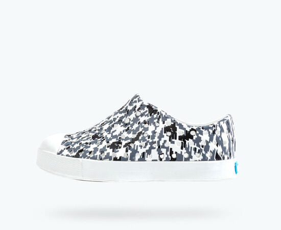 Jefferson Print  Shoe - Digital Grey