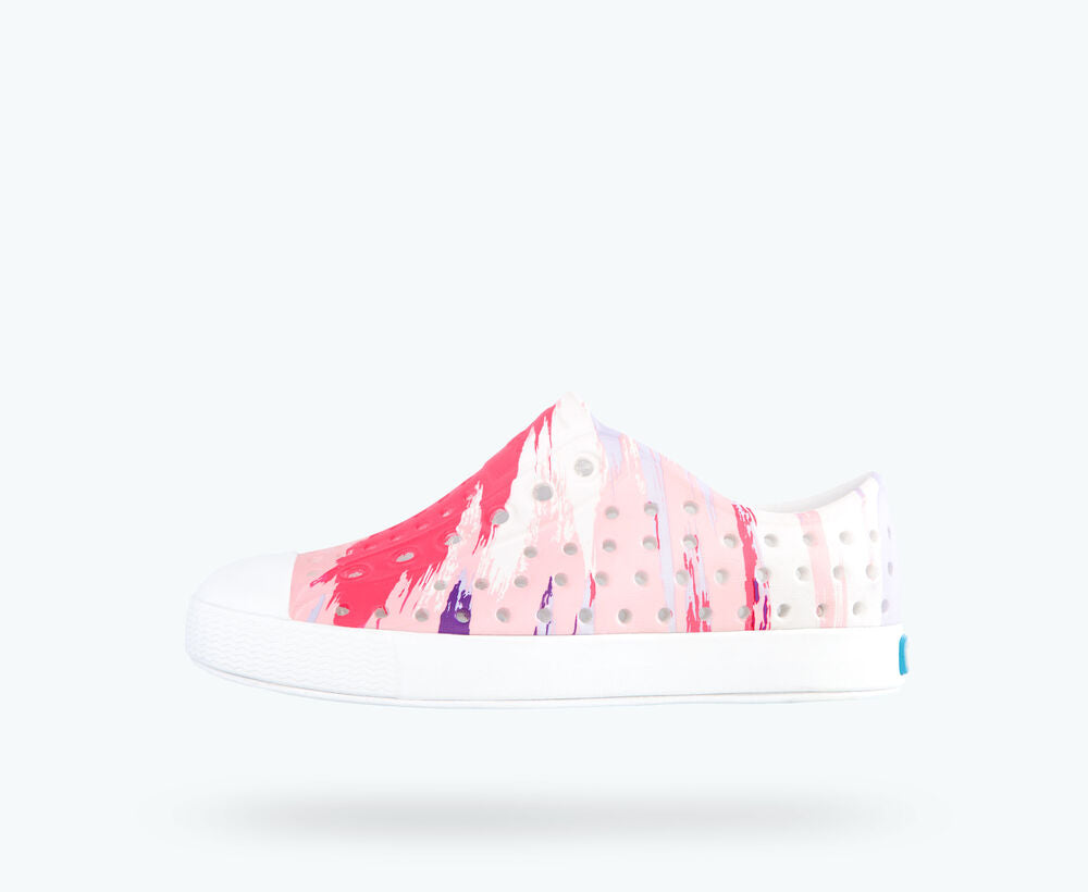 Jefferson Print  Shoe- Pink Multi Splatter