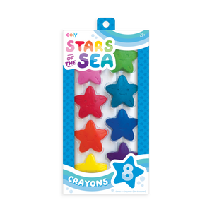 Stars of the Sea Crayons