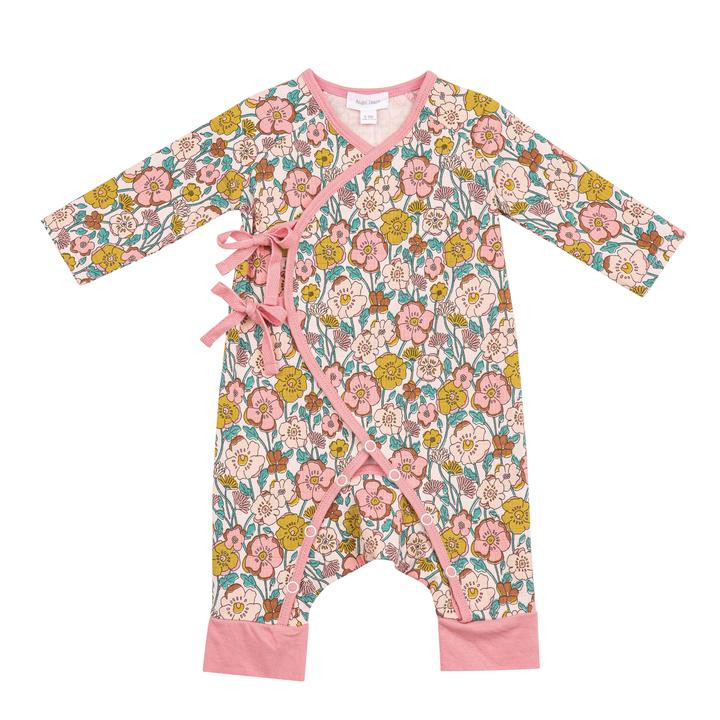Wrap Coverall - Flower Child