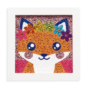 Razzle Dazzle DIY Gem Art Kit- Friendly Fox