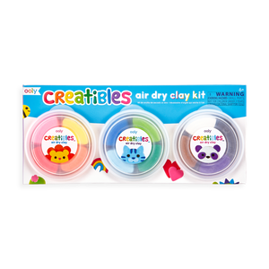 Creatibles D.I.Y. Air Dry Clay Kit