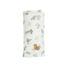 Load image into Gallery viewer, Bamboo Swaddle - Delicate Woodland