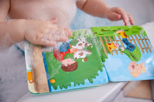 Wash Away Bath Book-Paul and Pia
