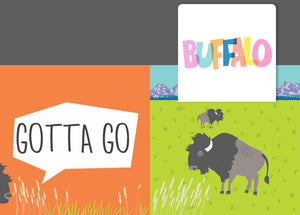 Gotta Go, Buffalo; a Silly Book of Goodbyes
