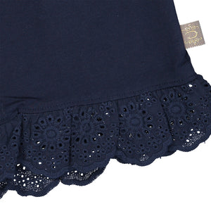 Creamie Lace Shorts-Total Eclipse