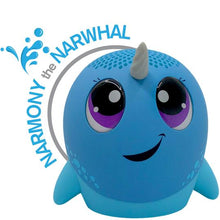 Load image into Gallery viewer, My Audio Pet- Narmony the Narwhal Splash!