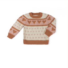 Load image into Gallery viewer, Love Sweater - Pecan Old Rose