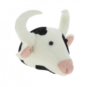 Mini Cow Head Wall Mount
