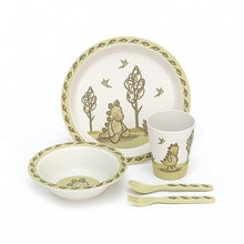 Load image into Gallery viewer, Amuseable My Friend Dino Bamboo Tableware Set
