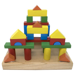 Building Blocks with Wooden Box - 32 piece