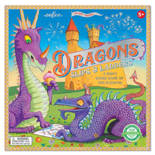 Load image into Gallery viewer, Dragon Slips & Ladders Board Game