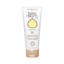 Load image into Gallery viewer, Mineral SPF 50 Sunscreen Lotion-Fragrance Free