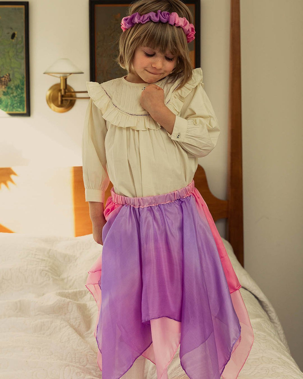 Reversible Fairy Skirt - Blossom