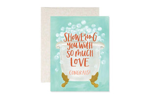 Showers Congrats Card