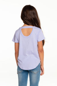 Sprinkle Cone Scoop Back Tee