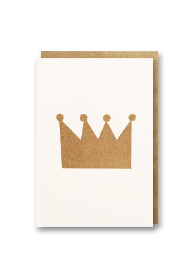 Crown Birthday Card