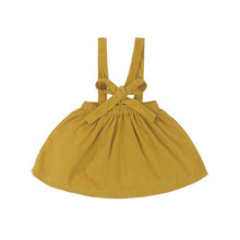 Load image into Gallery viewer, Adelaide Suspender Skirt- Mustard