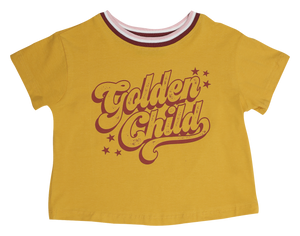 Golden Child Girls Boxy Tee