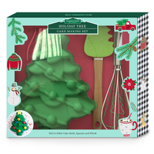 Load image into Gallery viewer, Christmas Tree Cake Making Set