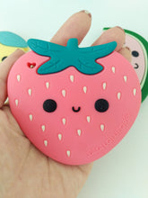 Load image into Gallery viewer, Strawberry Silicone Teether Set