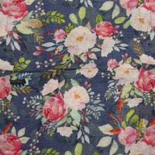 Load image into Gallery viewer, Muslin Swaddle - Midnight Bloom