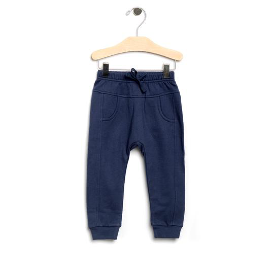 LAST CHANCE! Sporty Pocket Pants-Navy size 18-24M
