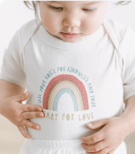 Load image into Gallery viewer, Kindness Rainbow Bodysuit