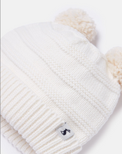 Load image into Gallery viewer, Pom Pom Knitted Hat - Cream