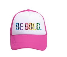 Load image into Gallery viewer, Be Bold Trucker