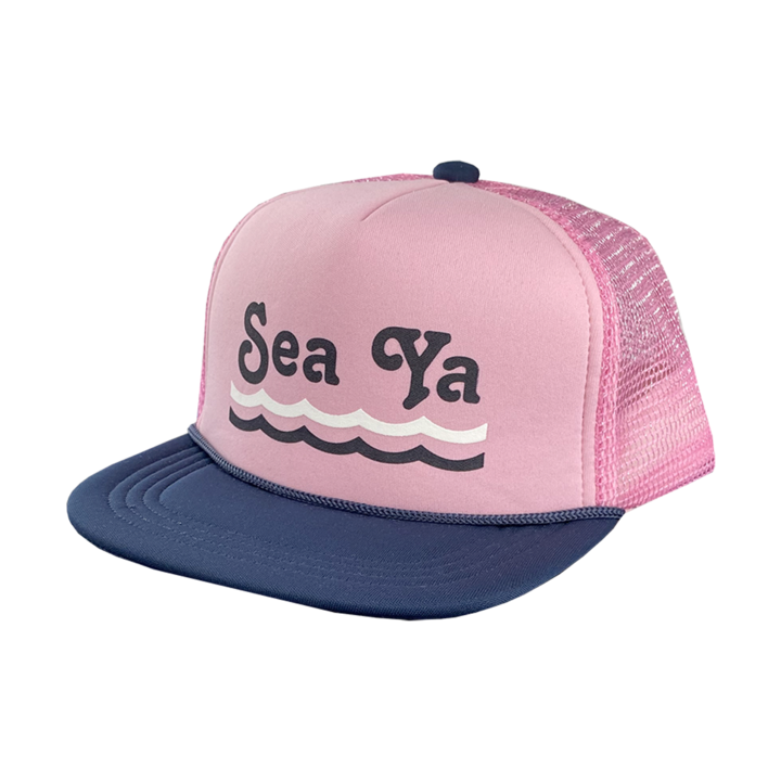 Tiny Whales Trucker Hat-Sea Ya