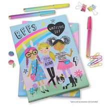 Load image into Gallery viewer, Cool Girls BFF Stationery Writing Set