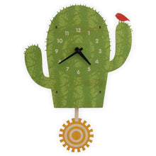 Load image into Gallery viewer, Cactus Pendulum Clock