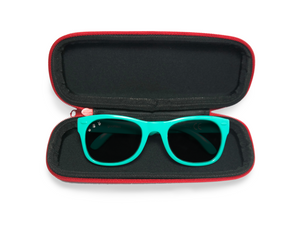Zippered Sunglass Case and Strap