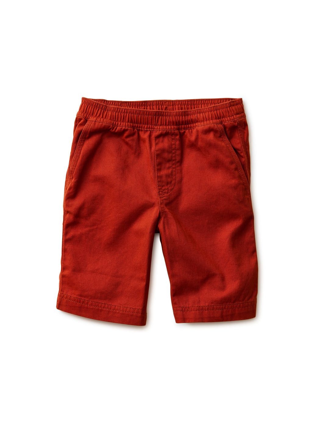 Easy Does It Twill Short-Dark Maple