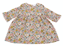 Load image into Gallery viewer, Bell Sleeve Dress - Flower Child