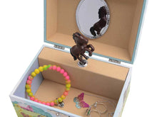 Load image into Gallery viewer, Horse Musical Jewelry Box