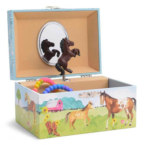 Horse Musical Jewelry Box